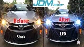 LED Headlights Upgrade for Toyota Camry | JDM astar LED Headlights