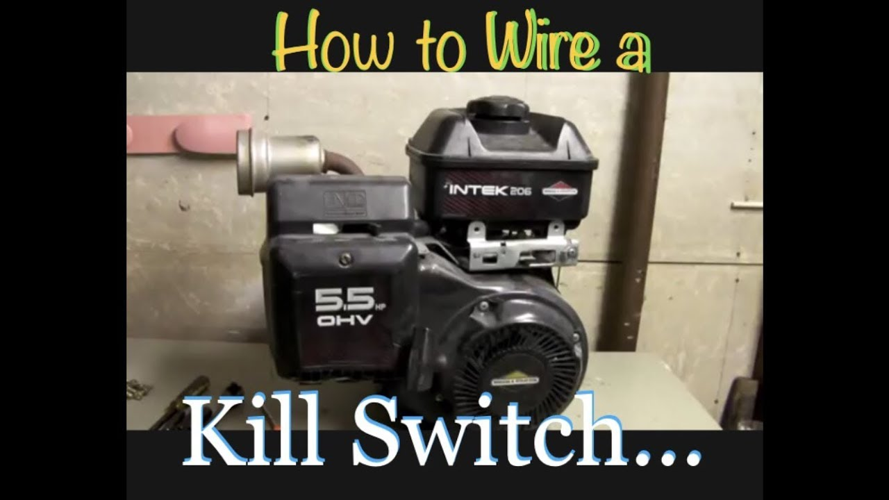 How To Wire A Kill Switch Youtube Murray Mini Bike Engine Diagrams