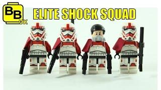 LEGO STAR WARS IMPERIAL ELITE SHOCK SQUAD MINIFIGURES