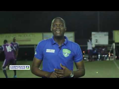 CORPORATE FOOTBALL LEAGUE DAY 1 2016 PRODUCTION BY DAS MULTI