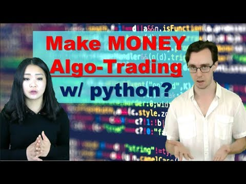 Algorithmic Stock Trading with Python - [The Ultimate Beginner's Tutorial] thumbnail