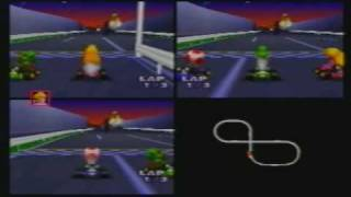 MK64 3-Player VS 150cc MJ(Toad) + VAJ(Yoshi) + Maurice(Peach) part 8