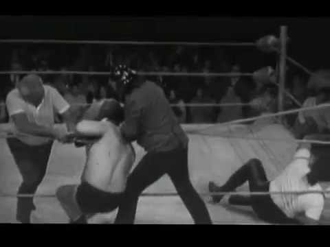 WCW Australia 70's Mark Lewin vs Abdullah The Butcher
