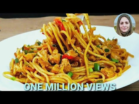 Spicy Chicken Spaghetti L Spaghetti Recipe L Chicken Recipes L Cooking With Benazir
