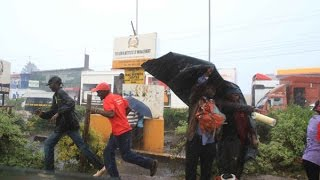 Exclusive video: The day Uhuru became a rainmaker in Nyeri