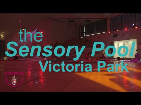 Sensory Pool at Victoria Park leisure Centre