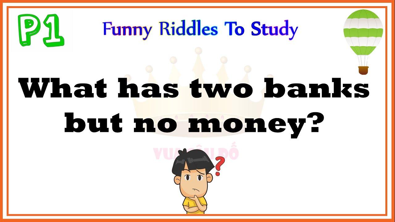 Những câu đố tiếng anh thú vị có đáp án-Giúp trẻ học tiếng anh-Funny riddles to study 1