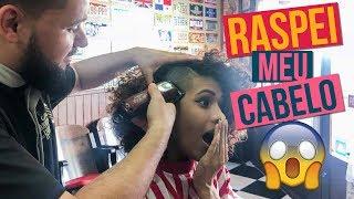 RASPEI meu cabelo num BarberShop | Meu Sidecut