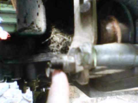 How To Adjust You Brakes On Lawn Tractor Youtube