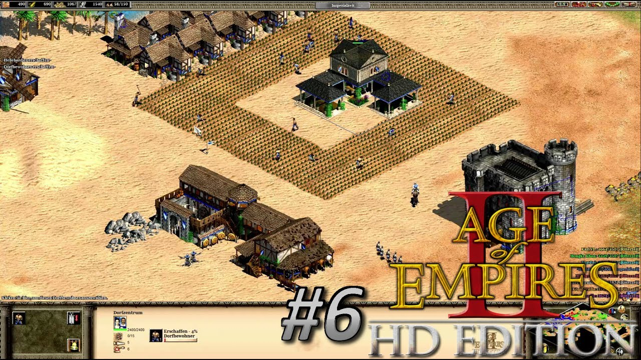 Age of Empires #6 // Action mit den Briten in der Wüste