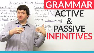 Grammar: Active and Passive Infinitives