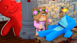 MY BABYSITTER IS ... GUMMY! *evil sour patch kids* | Minecraft Little Kelly
