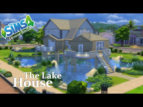 The Sims 4 - House Build - The Lake House