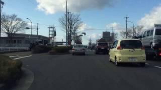 神戸・藤原台方面から吉原墓地チェリーブロッサムへの経路を紹介してい...
