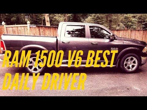 review of the 2016 ram 1500 v6 after 50 000 miles best everyday commuter full size truck 22. Black Bedroom Furniture Sets. Home Design Ideas