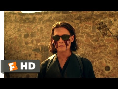 Once Upon a Time in Mexico (9/11) Movie CLIP - The Blind Gunslinger (2003) HD