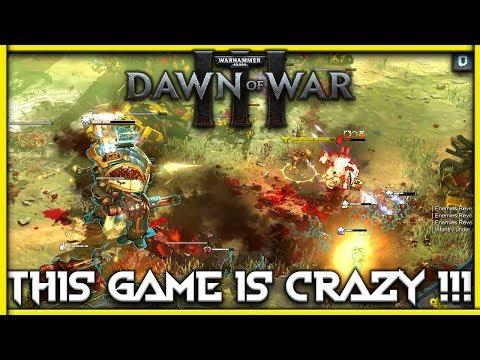 [Warhammer 40K : Dawn Of War III ] This Game is CRAZY !! | 4K