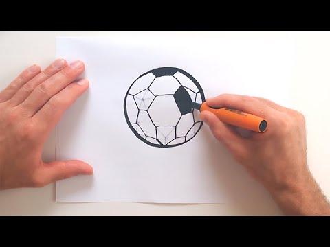 ball zeichnen in 50s zeichnen lernen