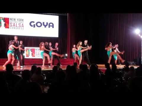 Nieves Latin Dancers NYC Salsa Congress 2017
