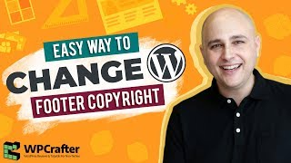How To Change The Footer Copyright Credits On Any WordPress Theme - New For 2017