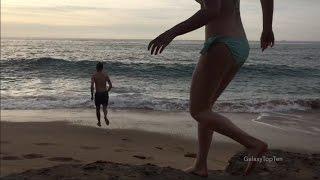 People in dangerous waves - fail compilation 2017 - biggest shorebreak beach fails