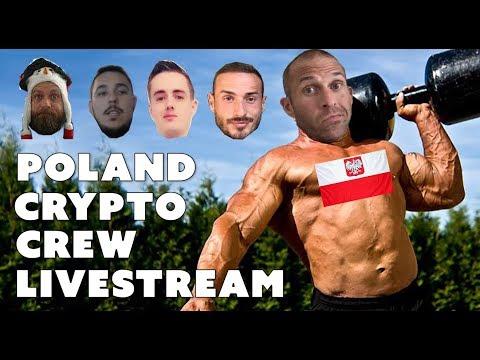 Poland Crypto Crew Livestream - Crypto Ellis, Tiziano Tridico, Keith Wareing, La Ferme du Mineur
