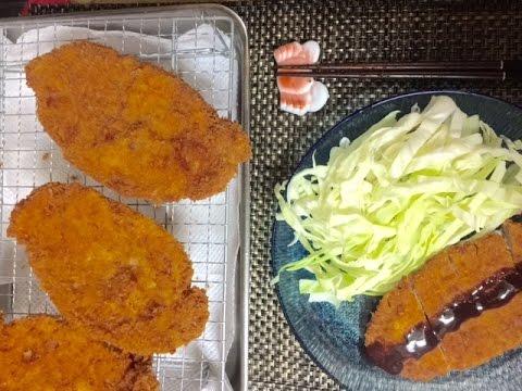 carne de porco a milanesa tonkatsu とんかつ