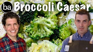 How to Make Broccoli Caesar Salad: Bon Appétit Recipe Test #9