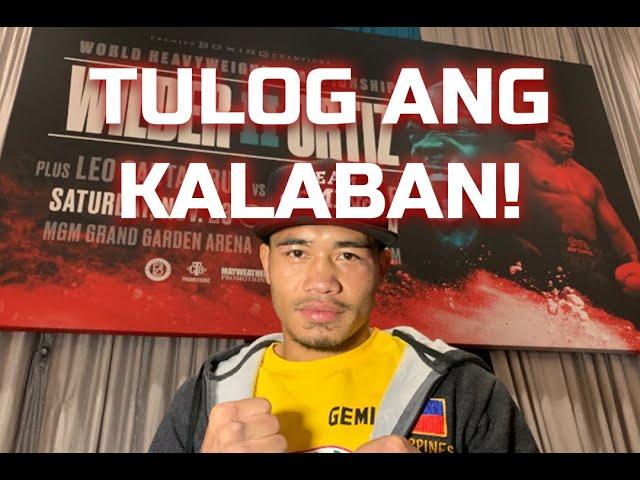 Pinoy JHON GEMINO pinatulog ang kalaban! BUMIDA sa Wilder-Ortiz II!