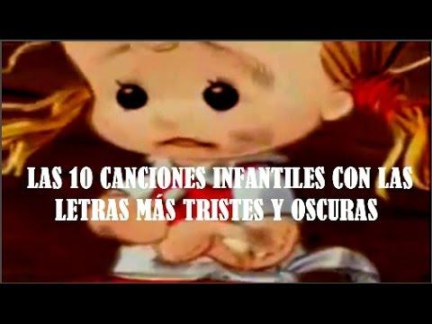 LAS 10 CANCIONES INFANTILES CON LAS LETRAS MÁS TRISTES Y OSCURAS