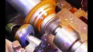 Ротационная вытяжка металла на токарном станке, своими руками.