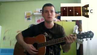 Guitar chords: Тёмная ночь (аккорды)