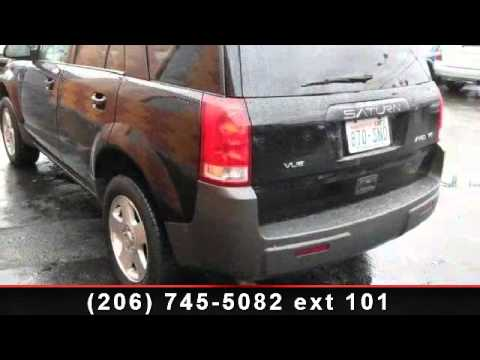 2004 saturn vue first national fleet and lease seattle youtube. Black Bedroom Furniture Sets. Home Design Ideas