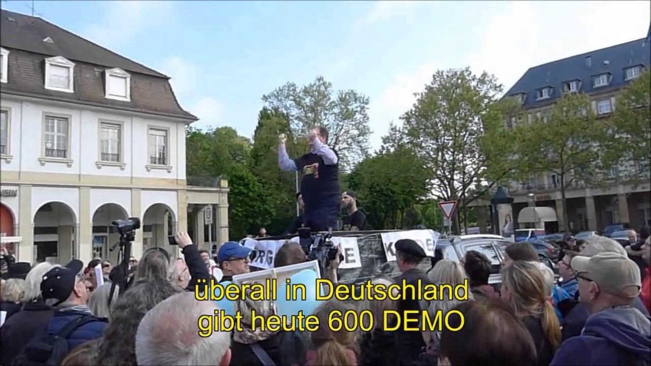 Demo In Karlsruhe