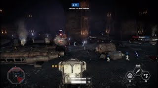 Star Wars Battlefront II gameplay. The longest overtime