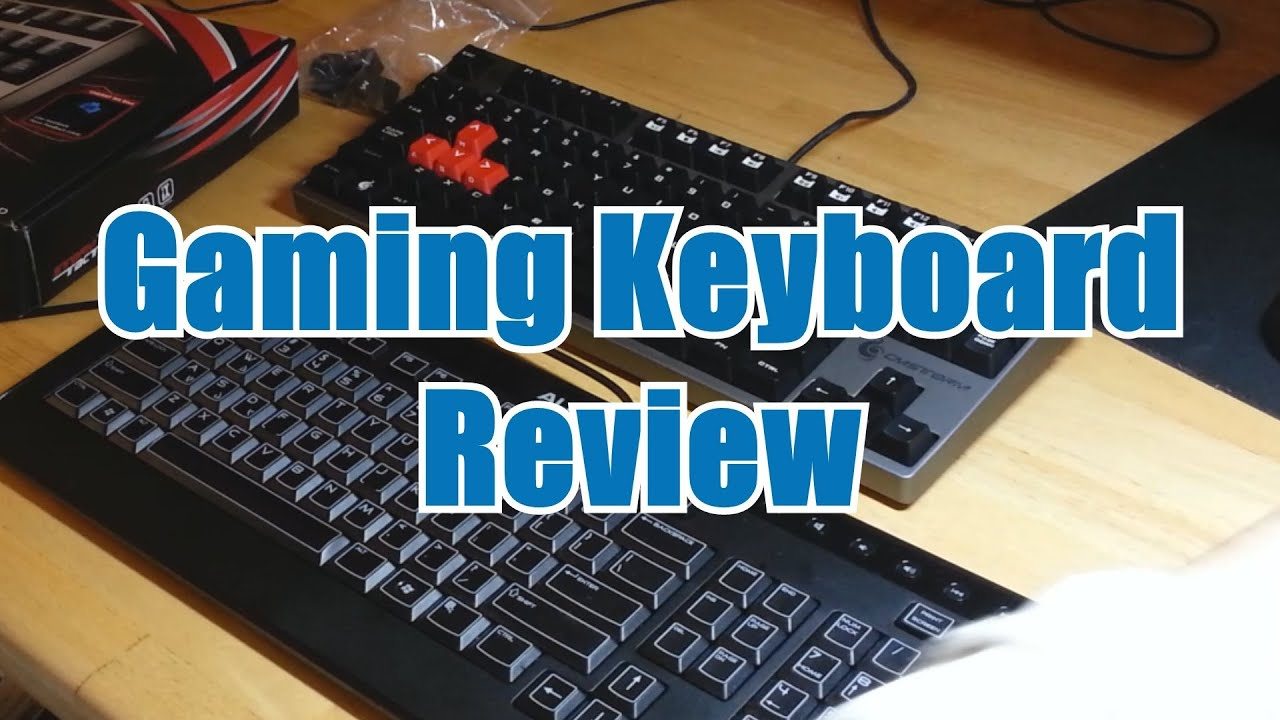 gaming keyboard vs normal