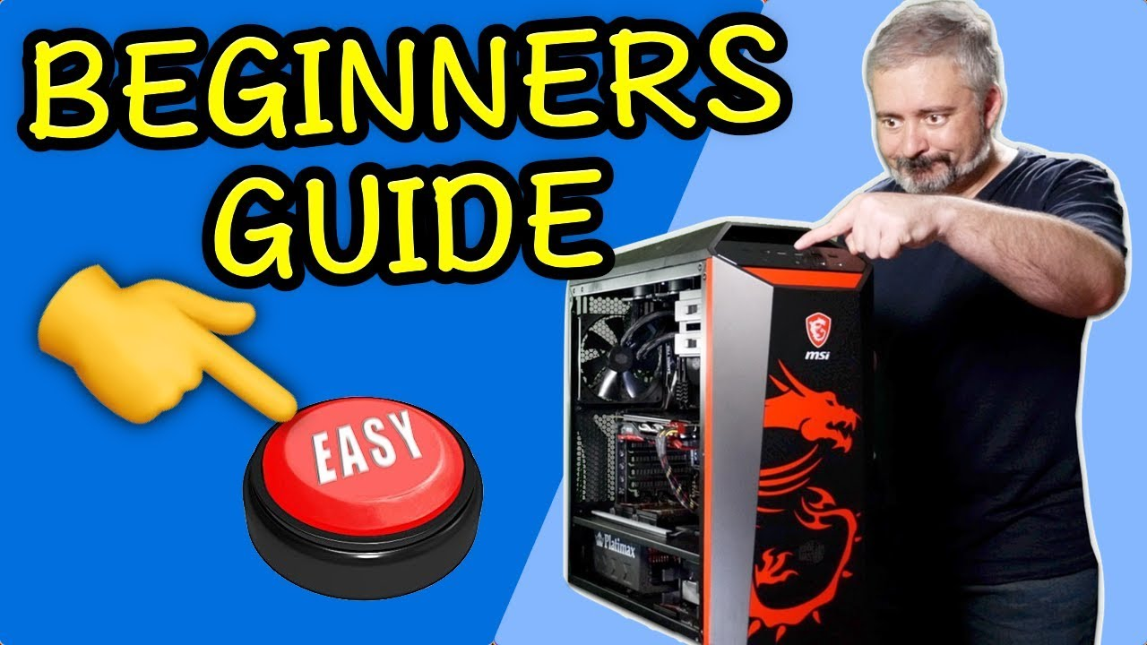 Beginners Guide - Build a PC - It's WAY EASIER Than You Think - #YesWeBuild