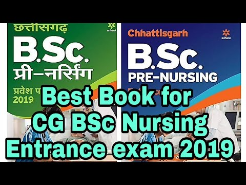 Best Book for CG BSc nursing entrance exam 2019