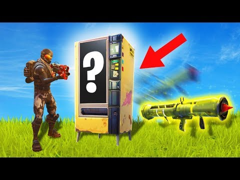 *NEW* VENDING MACHINE IN FORTNITE!