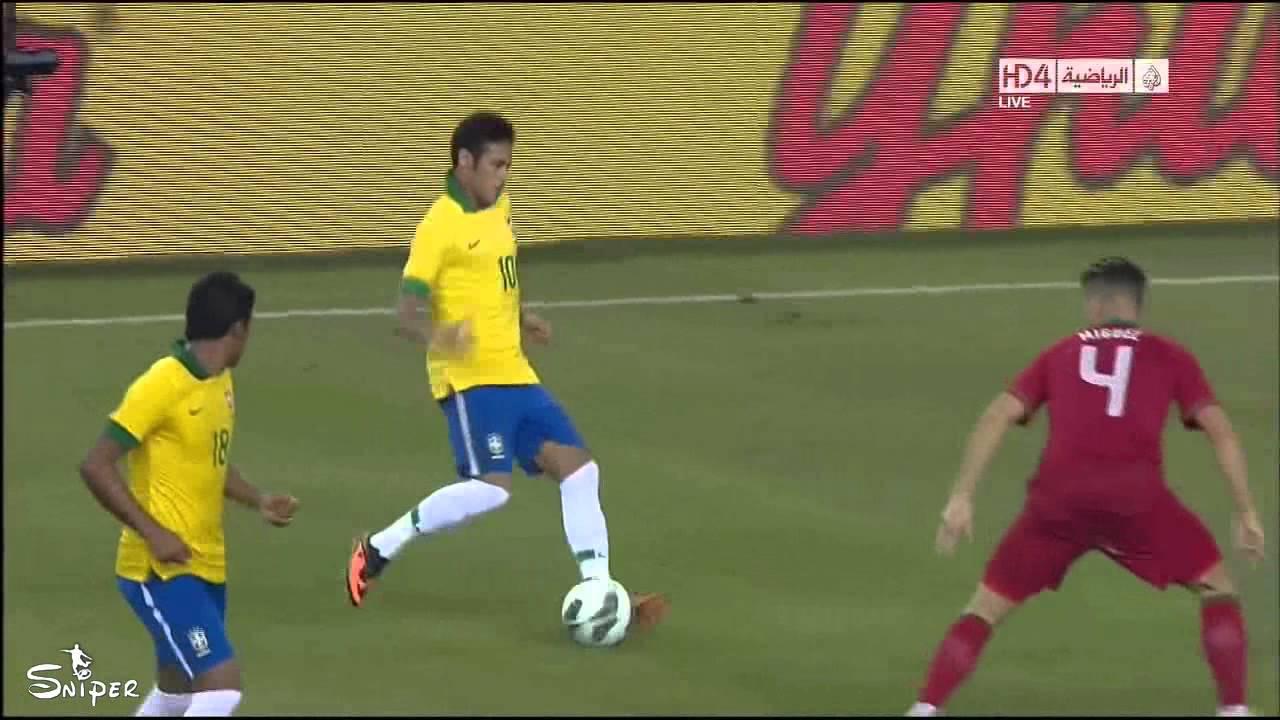 Brazil Vs Portugal 3-1 Jo Goal - Friendly Match 11/09/2013 ...
