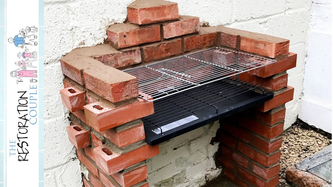 Quick Brick Bbq Build