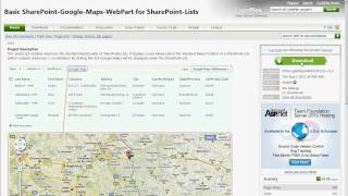 5-Minute-How-To: Using the Basic-SharePoint-Google-Maps-WebPart