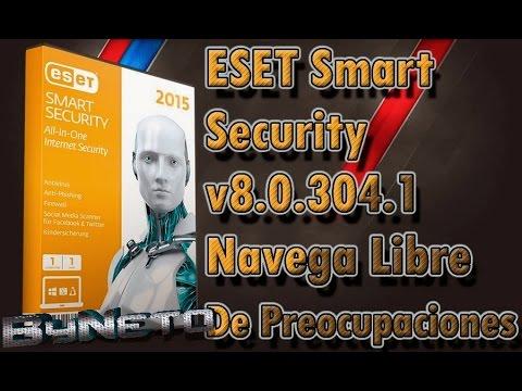 Descargar Eset Smart Security 8 2015 | licencias Para siempre [32 y 64 Bits]