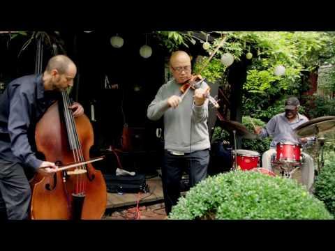 Jason Kao Hwang, Todd Nicholson, Michael TA Thompson - at 6BC Gardens - Arts for Art - Oct 1 2016