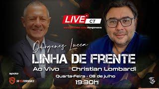 Linha de Frente com Diógenes Lucca entrevistando Christian Lombardi