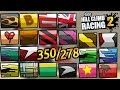 Hill Climb Racing 2 All My 350 Paints/Wheels/Drivers/Outfits 😍😍