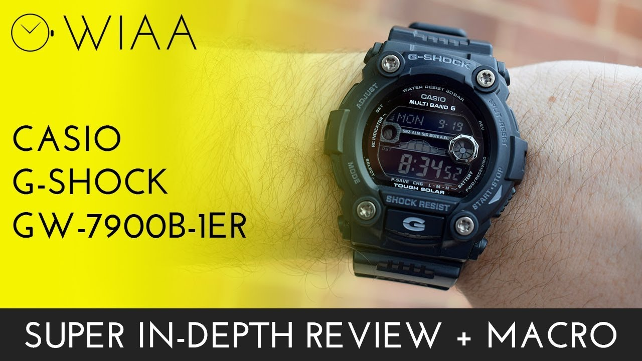 Shock 7900b 1er Review Gw Watch Casio G Ib7vY6mgyf