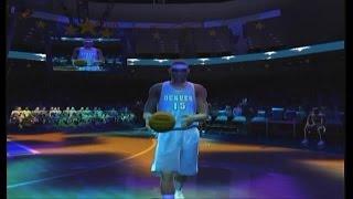 MELO SHOWS OUT FOR DENVER!!! | NBA Live 2005 Dunk Contest