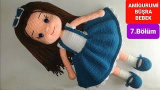 Amigurumi Büşra Bebek Yapımı - Elbise Altı ve Ayakkabı Yapılışı 7/7 (Gül Hanım)