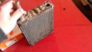 шолу радиатор отопителя на мазде 626